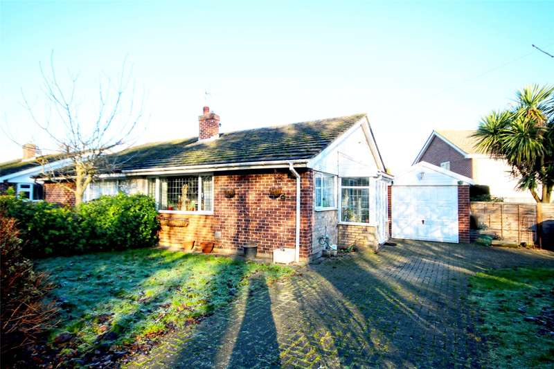 2 Bedrooms Semi Detached Bungalow for sale in Sandy Road, Addlestone, Surrey, KT15