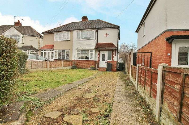 3 Bedrooms Semi Detached House for sale in Laburnum Road, Wednesbury