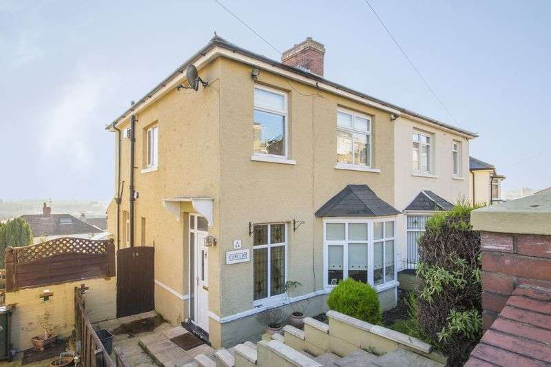 3 Bedrooms Semi Detached House for sale in Tennyson Road, Newport