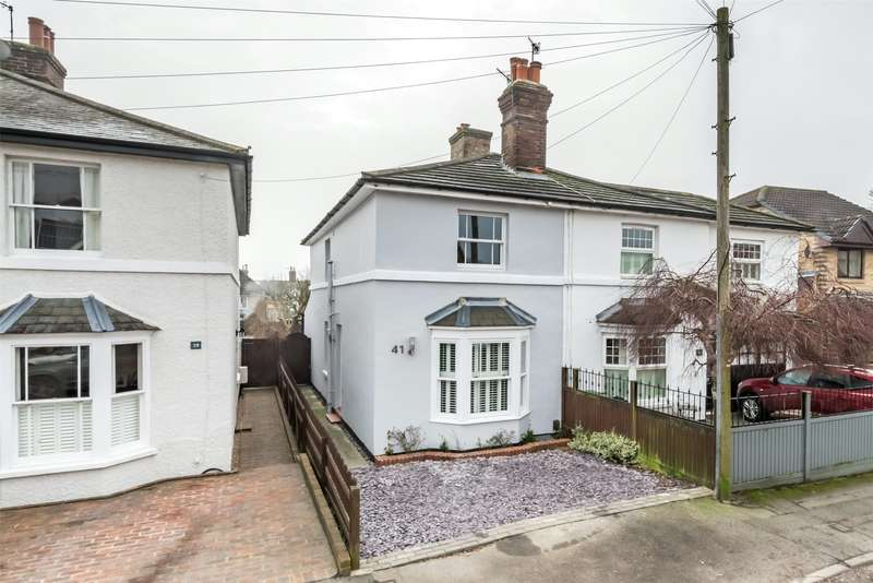 3 Bedrooms Semi Detached House for sale in Albert Road North, Reigate, Surrey, RH2