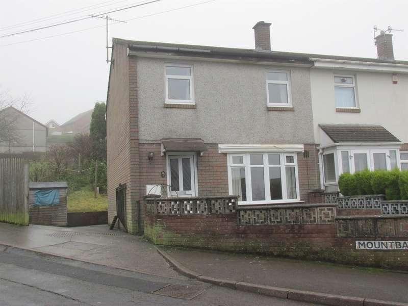 3 Bedrooms End Of Terrace House for sale in Mountbatten, Rhymney, Tredegar