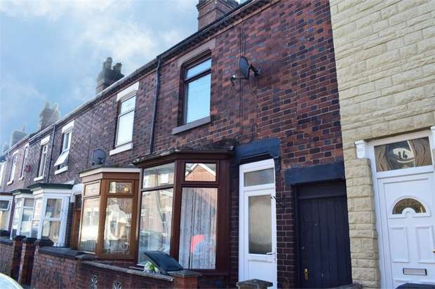 3 Bedrooms Terraced House for sale in Argyll Road, Stoke-on-Trent, Staffordshire
