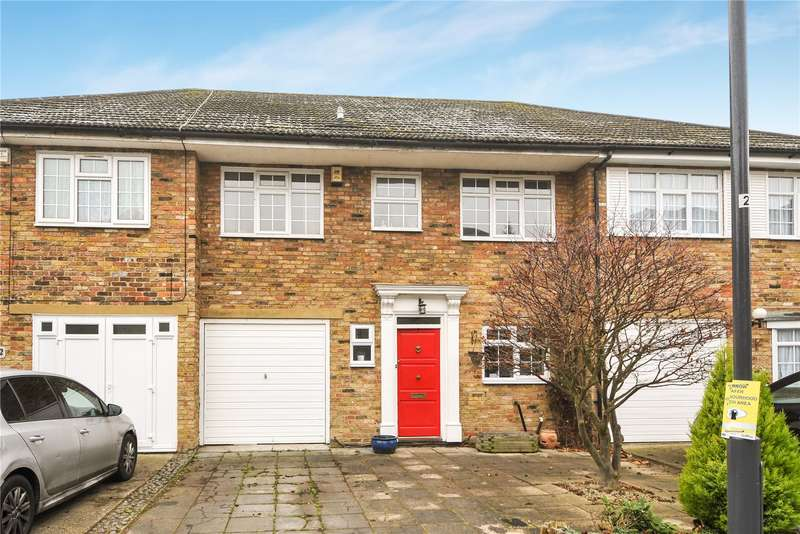3 Bedrooms Terraced House for sale in Braeside Close, Pinner, Middlesex, HA5