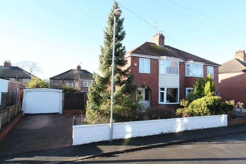 3 Bedrooms Semi Detached House for sale in Mayfield Place East, Trent Vale