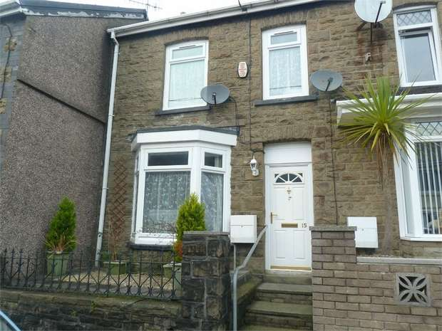 2 Bedrooms Terraced House for sale in Treharne Road, Caerau, Maesteg, Mid Glamorgan