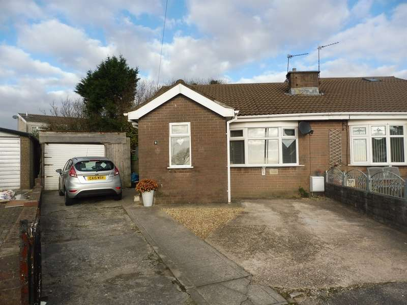 2 Bedrooms Semi Detached Bungalow for sale in Tyn Y Bettws Close, Bettws, Bridgend