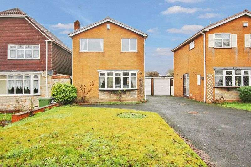 3 Bedrooms Detached House for sale in Broad Lane South, Wednesfield, Wolverhampton