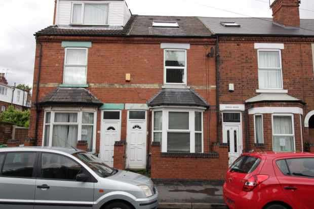 5 Bedrooms Terraced House for sale in Lace Street, Nottingham, Nottinghamshire, NG7 2JT