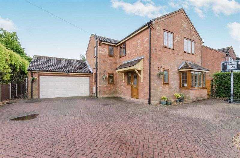 4 Bedrooms Detached House for sale in Rooks Lane, Misterton