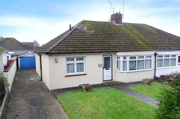 3 Bedrooms Semi Detached Bungalow for sale in Worthing Road, Rustington, West Sussex, BN16