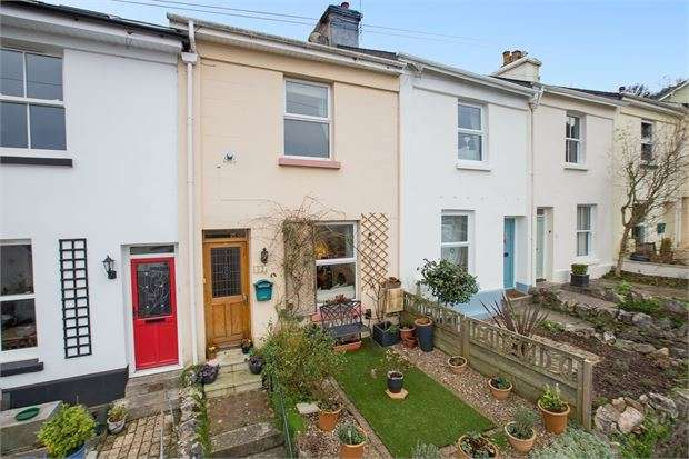 2 Bedrooms Terraced House for sale in Tudor Road, Newton Abbot, Devon. TQ12 1HT