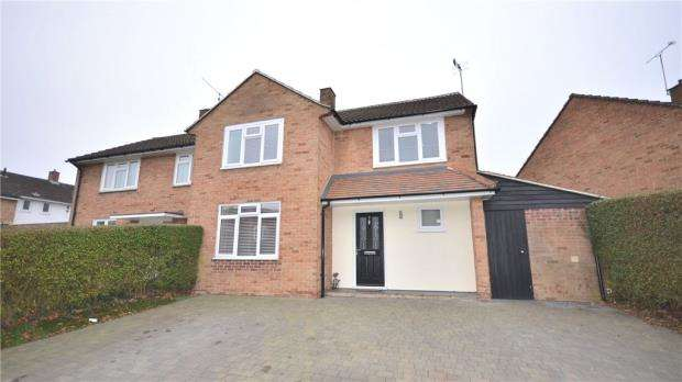 4 Bedrooms Semi Detached House for sale in Hart Close, Bracknell, Berkshire