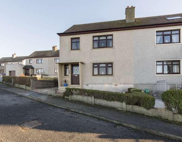 3 Bedrooms End Of Terrace House for sale in Garden Crescent, Gardenstown, Banff, Aberdeenshire, AB45 3ZJ
