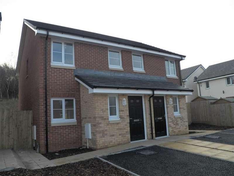 2 Bedrooms Semi Detached House for sale in Brunel Wood, Upper Bank, Swansea