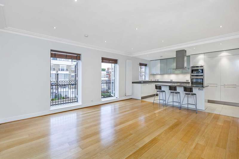 3 Bedrooms Apartment Flat for sale in Rowan Lodge, Chantry Square, Kensington Green, W8