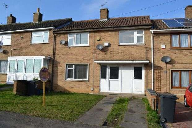 3 Bedrooms Terraced House for sale in Swale Drive, Kings Heath, Northampton NN5 7NW