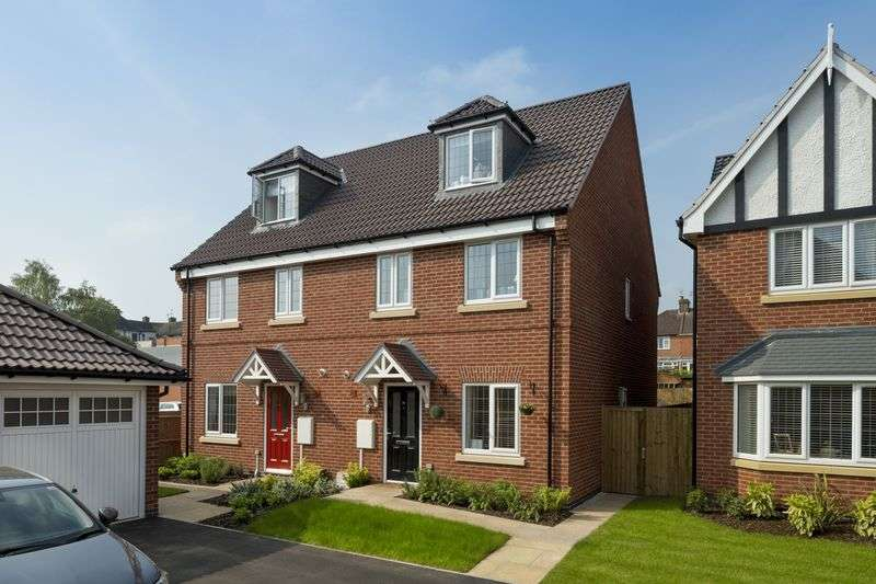 4 Bedrooms Semi Detached House for sale in THE BRAILSFORD, LANGLEY COUNTRY PARK