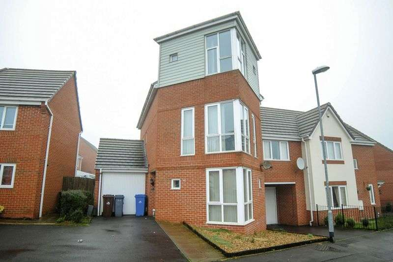 4 Bedrooms Semi Detached House for sale in East Street, Weston Heights, Stoke-On-Trent, ST3 6QJ
