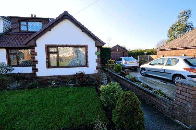 3 Bedrooms Semi Detached Bungalow for sale in Rectory Lane, Bury