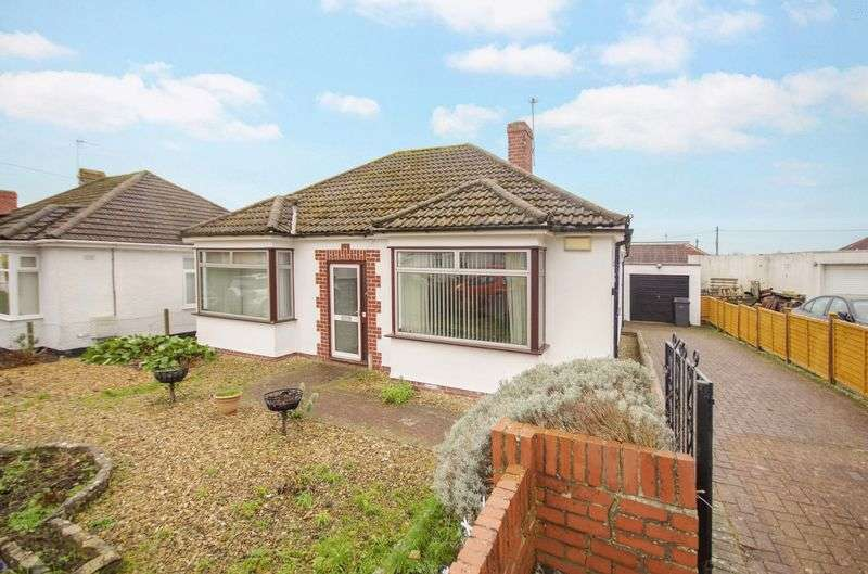 2 Bedrooms Detached Bungalow for sale in Maisemore Avenue, Stoke Lodge, Bristol