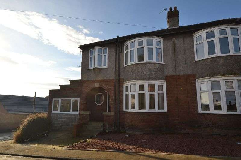 3 Bedrooms Semi Detached House for sale in West View, Ashington