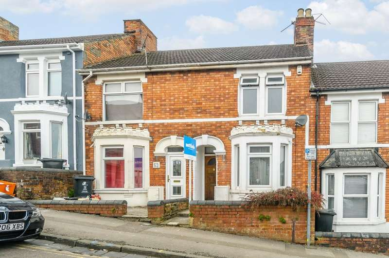 2 Bedrooms Terraced House for sale in Deacon Street, Swindon, Wiltshire, SN1 5NB