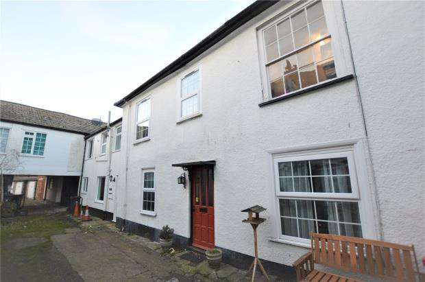 2 Bedrooms Terraced House for sale in Central Place, High Street, Honiton, Devon
