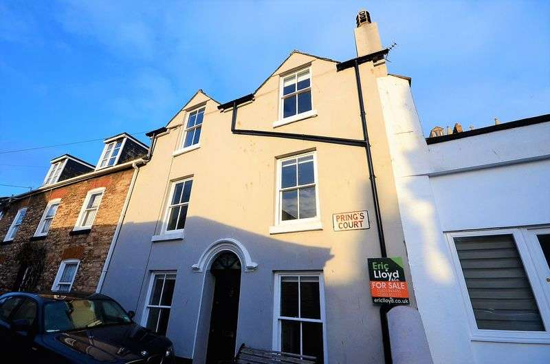 4 Bedrooms Terraced House for sale in PRINGS COURT, BRIXHAM