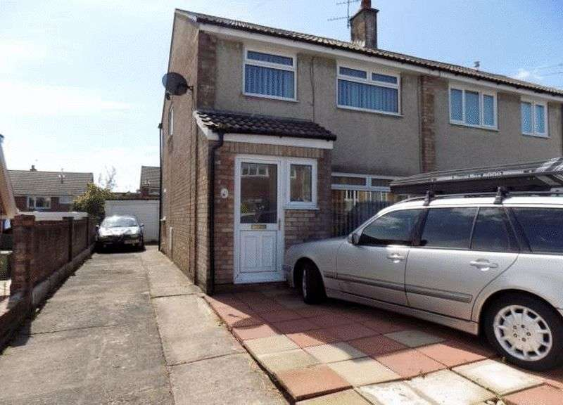 4 Bedrooms Semi Detached House for sale in Claverton Close, Beddau