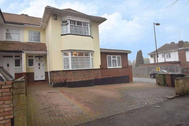 4 Bedrooms Semi Detached House for sale in Halfway Avenue, Luton