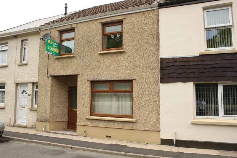 2 Bedrooms Terraced House for sale in Heol Giedd, Ystradgynlais, Swansea