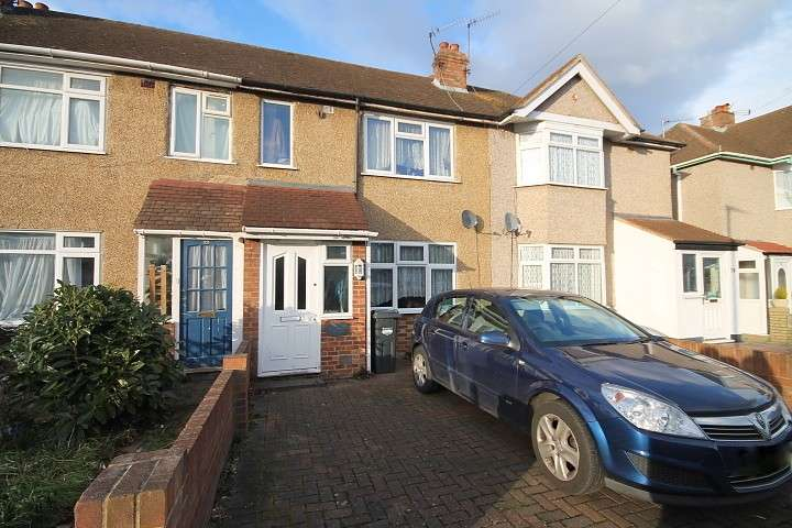 2 Bedrooms Terraced House for sale in Ellington Road, Feltham, TW13
