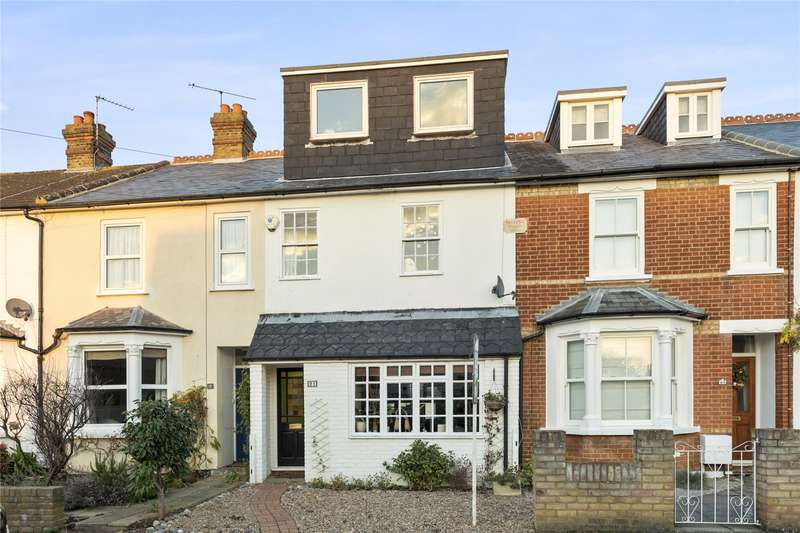 4 Bedrooms Terraced House for sale in Harvey Road, Walton-on-Thames, Surrey, KT12