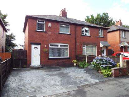 3 Bedrooms Semi Detached House for sale in Vale Avenue, Stoneclough, Manchester, Greater Manchester