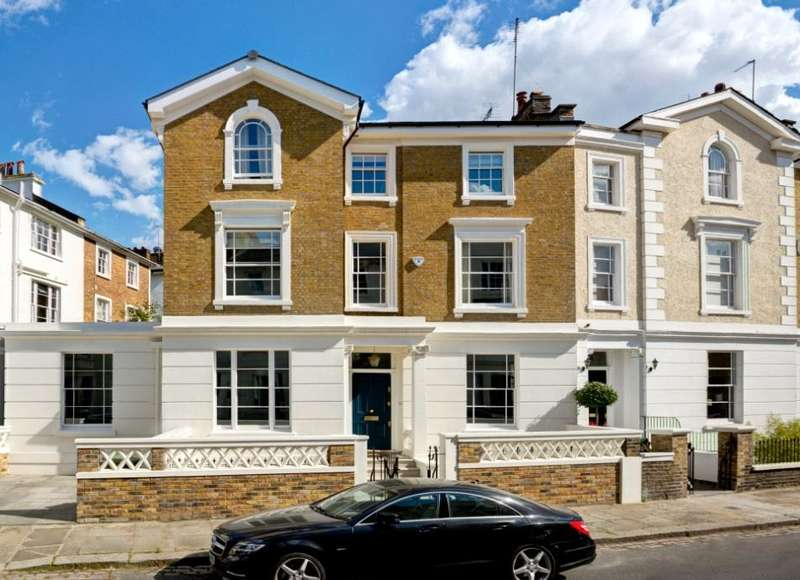 4 Bedrooms End Of Terrace House for sale in St. Marks Crescent, London, NW1