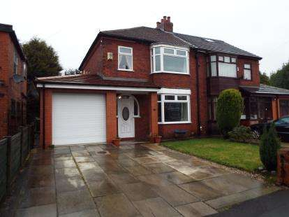 3 Bedrooms Semi Detached House for sale in Lakeside Avenue, Great Lever, Bolton, Greater Manchester, BL3