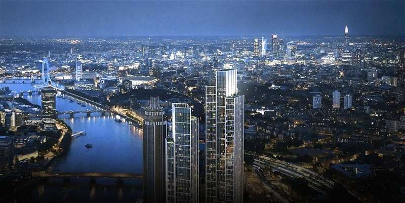1 Bedroom Flat for sale in One Nine Elms, London, SW8