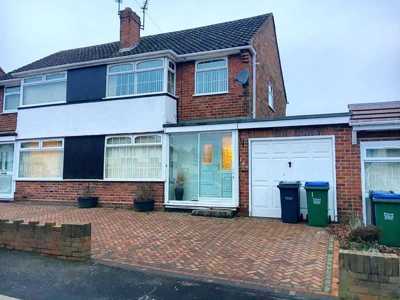 3 Bedrooms Semi Detached House for sale in WALSALL ROAD, WEST BROMWICH, WEST MIDLANDS, B71 3LH