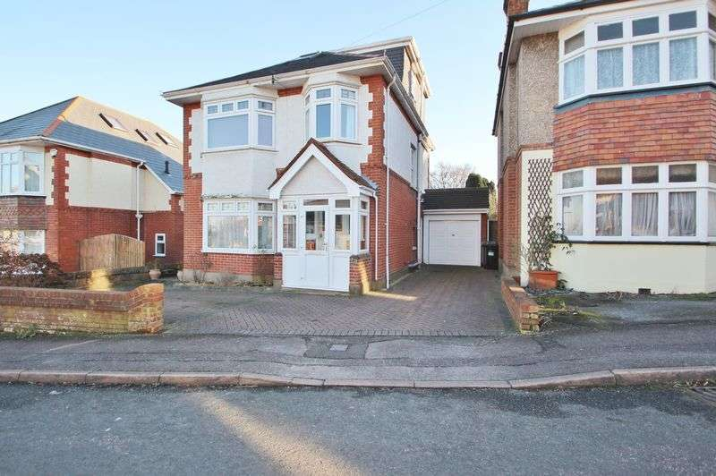 5 Bedrooms Detached House for sale in Winston Road, Bournemouth