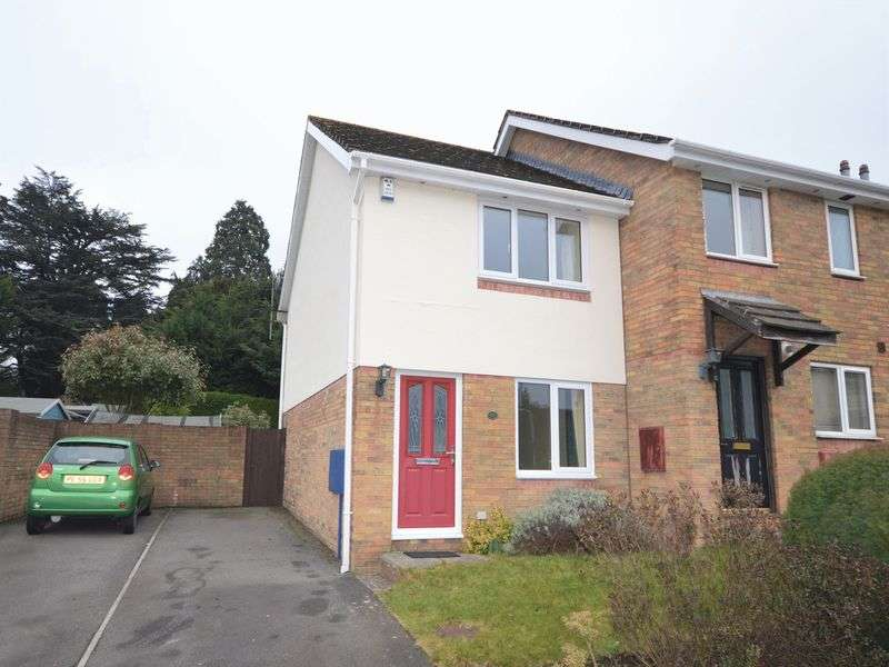 2 Bedrooms Semi Detached House for sale in Gavenny Way, Abergavenny