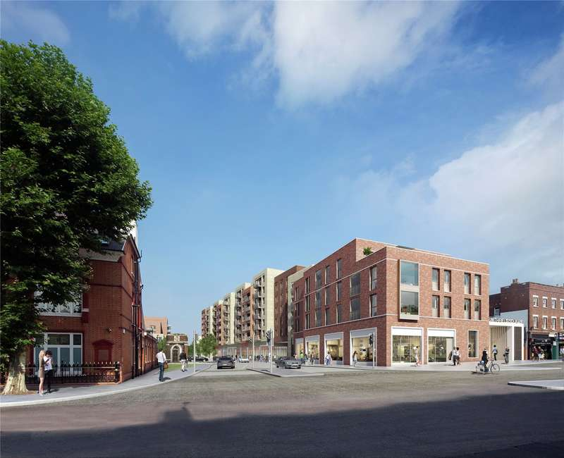 2 Bedrooms Flat for sale in Smithfield Square, Hornsey, London, N8