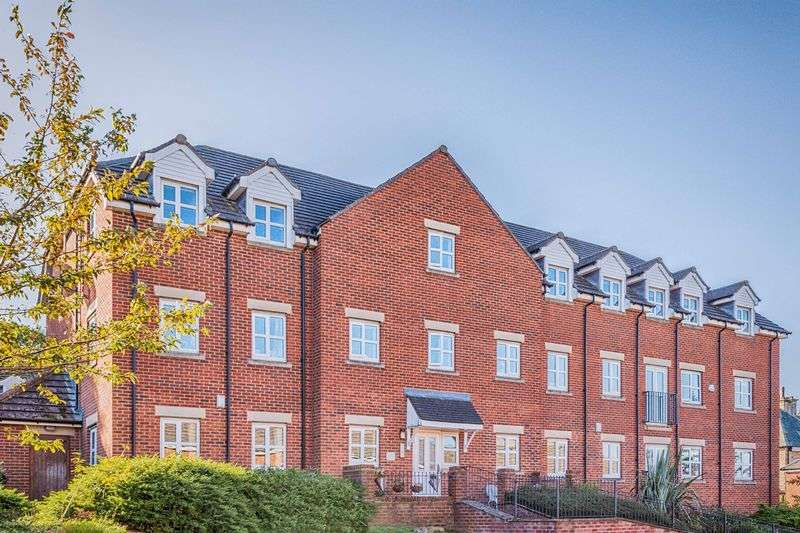 2 Bedrooms Flat for sale in St. Francis Close, Sandygate, Sheffield, S10 5SX