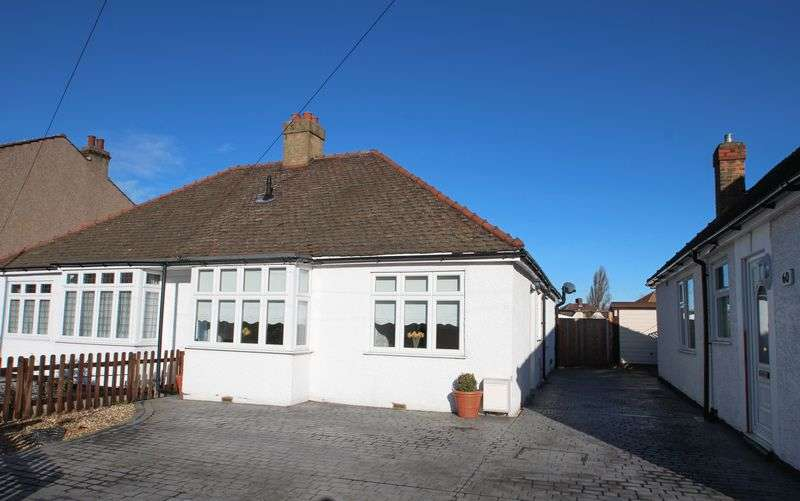 2 Bedrooms Semi Detached Bungalow for sale in Blanmerle Road, London