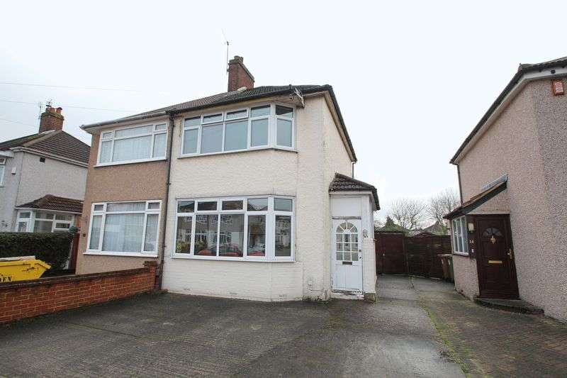 2 Bedrooms Semi Detached House for sale in Monmouth Close, Welling