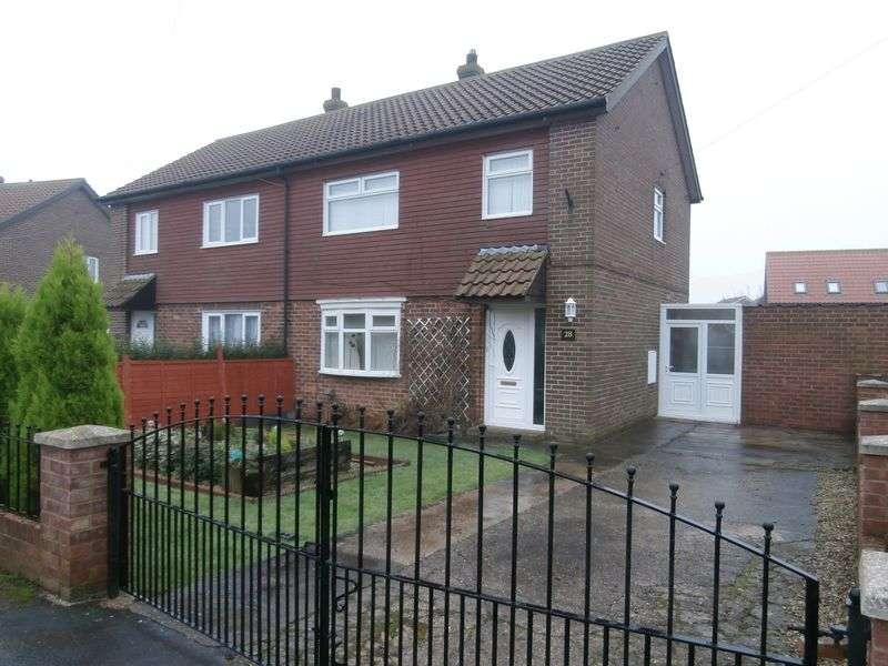 3 Bedrooms Semi Detached House for sale in Turmarr Villas, Easington