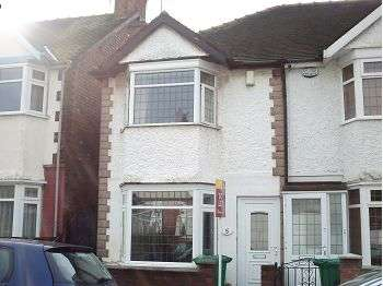 2 Bedrooms Terraced House for sale in White Road, Old Basford, Nottingham, NG5 1JR