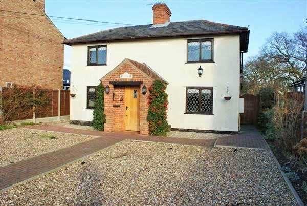 3 Bedrooms Detached House for sale in Floral Cottage, Colchester Main Road, Alresford, Colchester