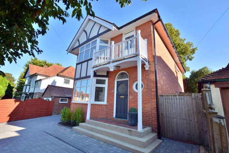 4 Bedrooms Detached House for sale in Lower Parkstone, Poole