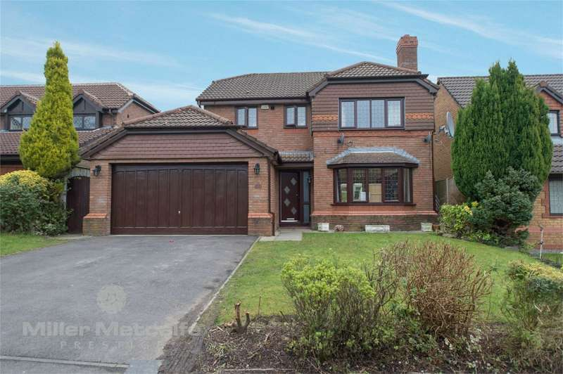 4 Bedrooms Detached House for sale in Whitland Avenue, Heaton, Bolton, Lancashire