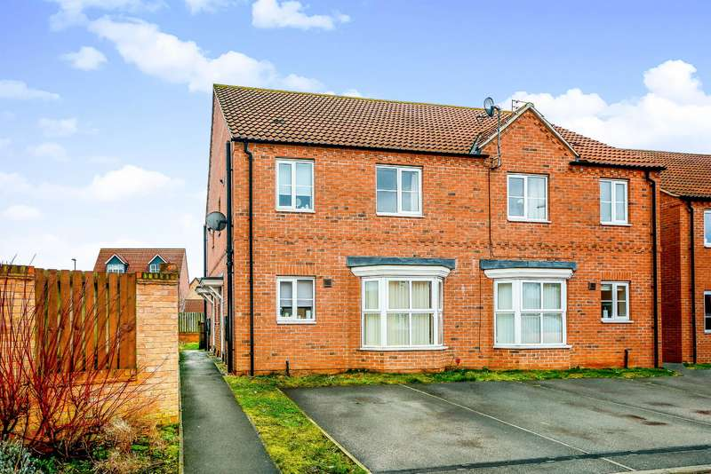 1 Bedroom Maisonette Flat for sale in Willow Gardens, Selby, YO8 8SH